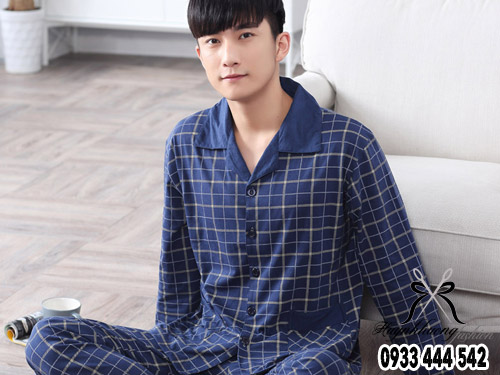 Mặc pijama tay dài quần dài của Huỳnh Hương Shop mát mẻ lại không lo muỗi đốt